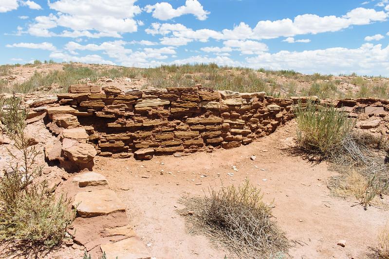 Homolovi Ruins by Trevor Huxham