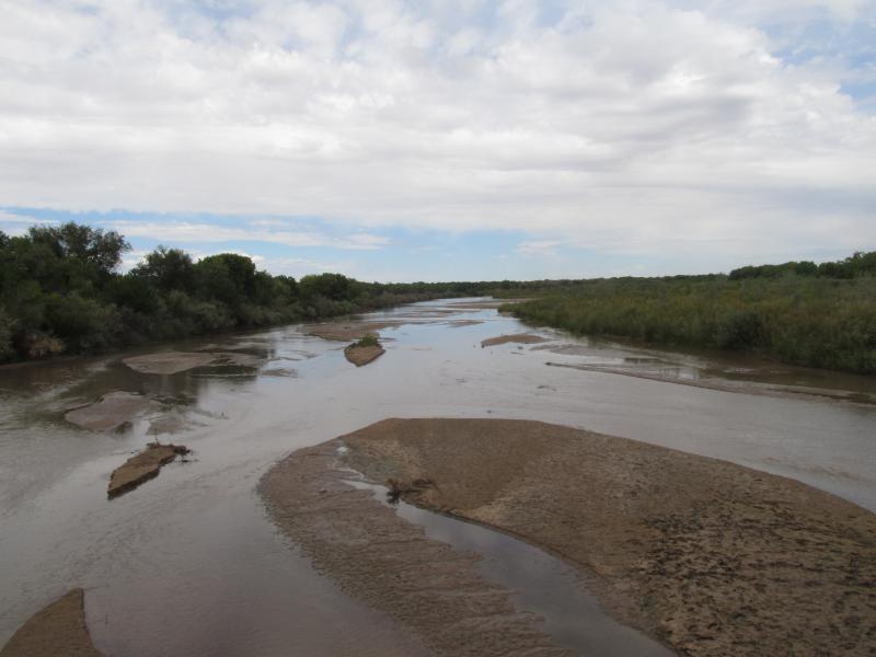 Rio Grande Albuquerque (KUNM/Laura Paskus)